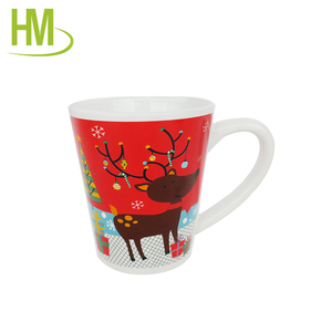 christmas gift ceramic coffee cups set
