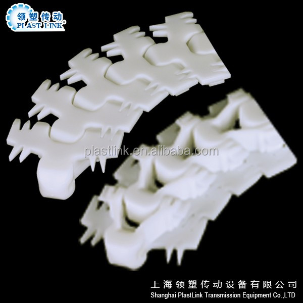 High Quality Plast Link F54 light duty conveyor chains Plastic Flexible Chain