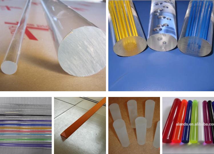 crystal Acrylic rod