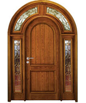 Safety wooden flush double main door designs catalogue for for Wooden main door design catalogue