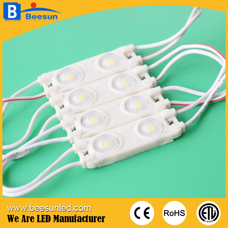 2LEDs SMD2835 0.72W IP65 led module for light box and signage