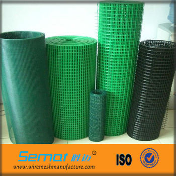 White Pvc Coated Welded Wire Mesh Fence Buy White Pvc