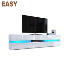 Alta lucida uso domestico led bianco mdf acrlyic moderno <span class=keywords><strong>mobile</strong></span> porta <span class=keywords><strong>tv</strong></span>