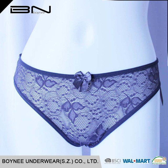 2017 high quality lace panties sexy underwear lady transparent womens thong panties