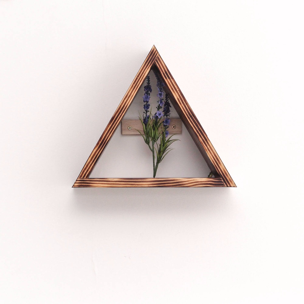 Small triangle wooden shelf buy small triangle wooden shelfwall mounted shelvessupermarket wooden shelf product on alibaba com