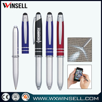 Top seller promotional metal stylus pen ballpoint pen