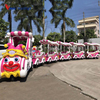 China supplier amusement park attractions sightseeing electric small clown tourist train for sale