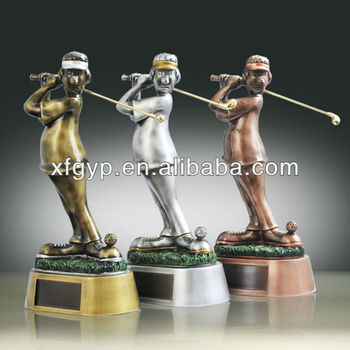 2015 hot sale wholesale resin trophy award