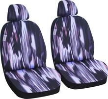 Jacquard Fabric comfortable application fits almost all car seat covers