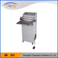 Semi automatic vacuum packaging machine for vegetables