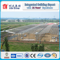Singapore gable frame light metal building prefabricated industrial steel structure warehouse