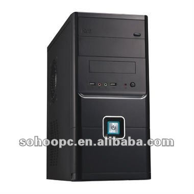 MICRO ATX COMPUTER CASE-6801BLACK COLOR