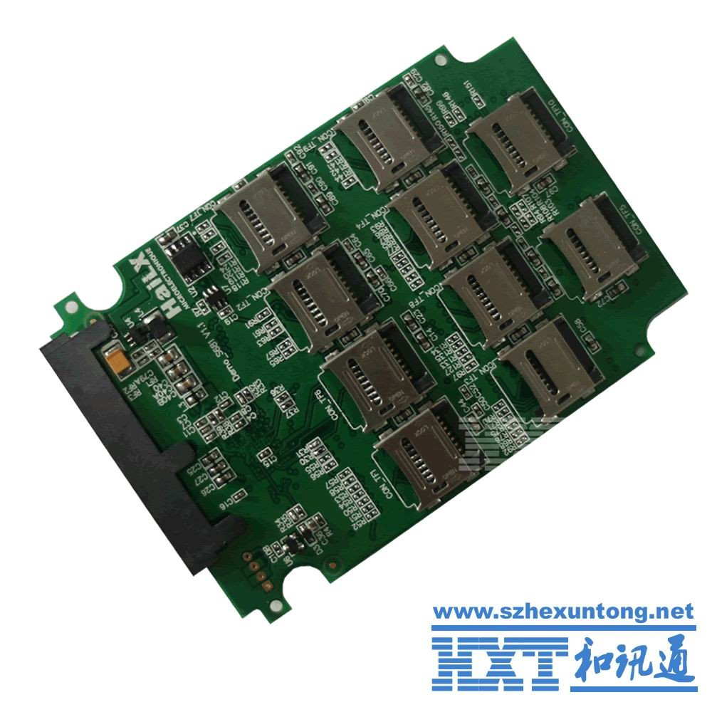 Micro-sd Tf Memory Card To Sata Ssd Adapter With Raid Quad 2.5 ...