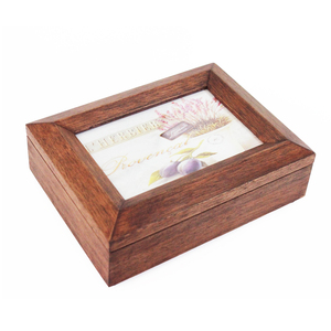 custom made wooden jewelry music box with Antique modeling