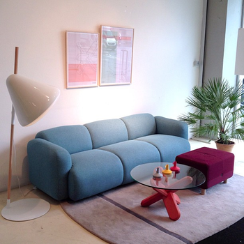 Scandinavian Design With An Edge Swell Sofa 3 Seater - Buy Swell ...