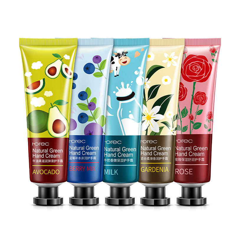 OEM ODM rorec moisturizing plant extract best hand cream set for very dry hands
