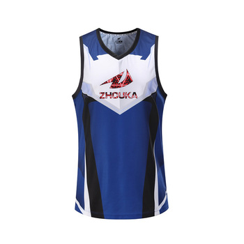9508e04b6a4 Blank Wholesale 2017 Latest Best Sublimated Custom Basketball Jersey Design  Cheap White And Blue Basketball Jersey