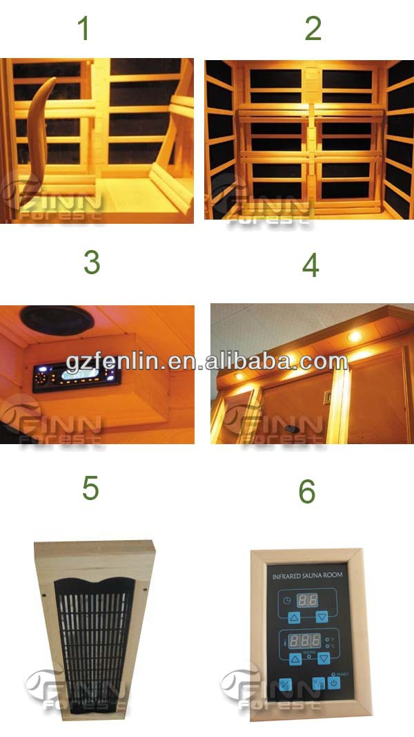 Factory direct supply 4 people use dry steam thai sauna