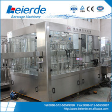 Automatic Carbonated Soft Drink Water Filling Machine