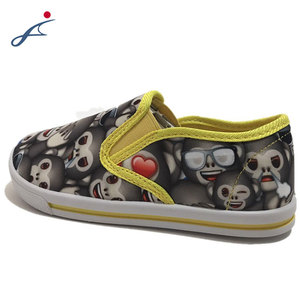 Wholesale Latest fashion Custom Autumn New Flat Style Girls canvas shoes