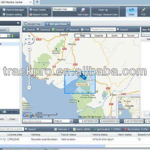 Software for Car GPS Tracker GPS/SMS/GPRS Vehicle Tracking System Software for GPS Smart Tracker