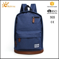 Customzied new design backpack pattern leather with low price