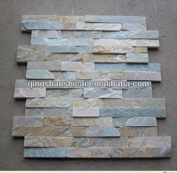Cheap Cultured Stone Interior SLATE Wall Cladding STONE VENEER New Product  Culture Stone