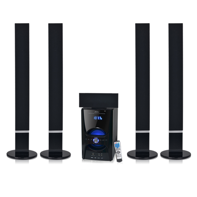 Discount stylish design stereo 5.1 tower home theater speaker with bluetooth