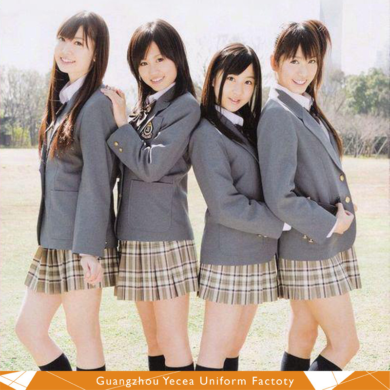 Good Quality Korean Young Girl High School Uniform - Buy ...