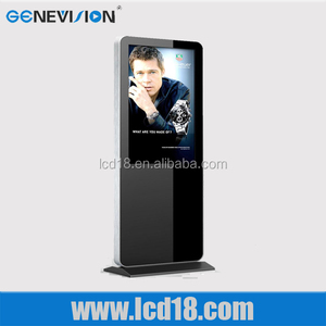 42 inch lcd ad player bookstore lcd screen advertising system picture and video player clothes shop ad player