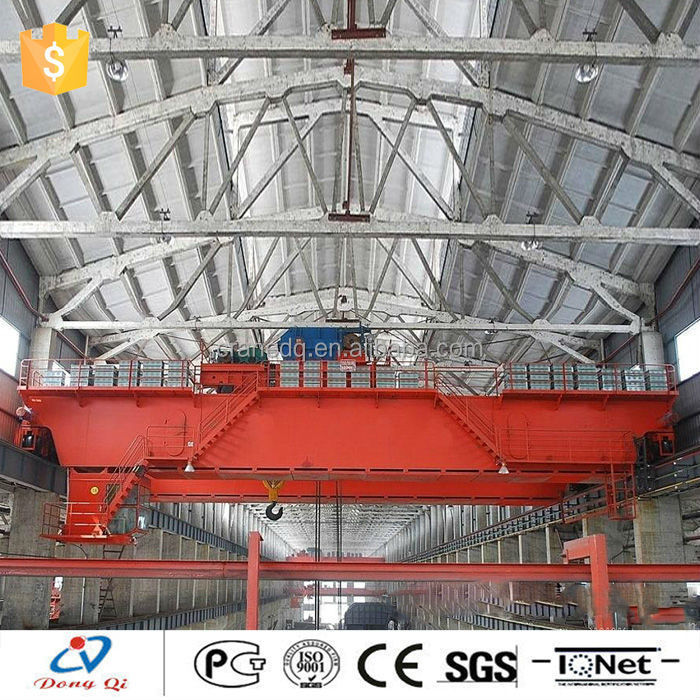 Yuantai provides many double girder cranes steel mill casting overhead crane price
