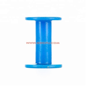 Injection custom plastic PP bobbin small empty plastic spool reel