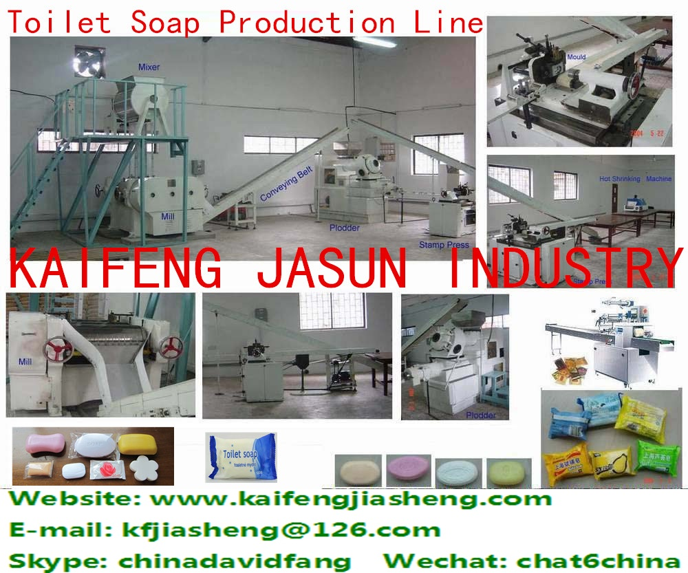 Factory Price Automatic Small Laundry Toilet Soap Making Machine