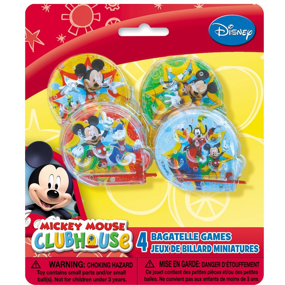 Mickey Mouse Clubhouse Ball Maze Games, 4ct