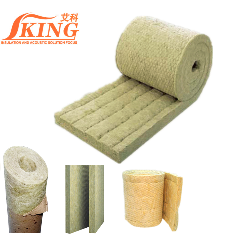 Safe Waterproof Rock Wool Blanket Insulation Materials
