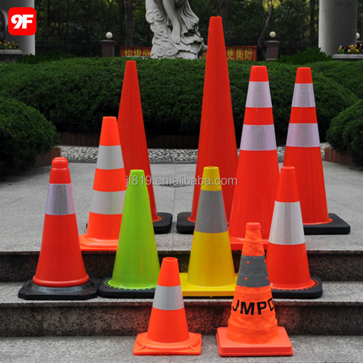 Flowing Base Mini Traffic Cone Safety Cones