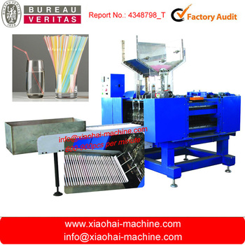Super high speed 6mm 8mm 10mm flexible drinking straw bending machine with 600pcs-900pcs per minute