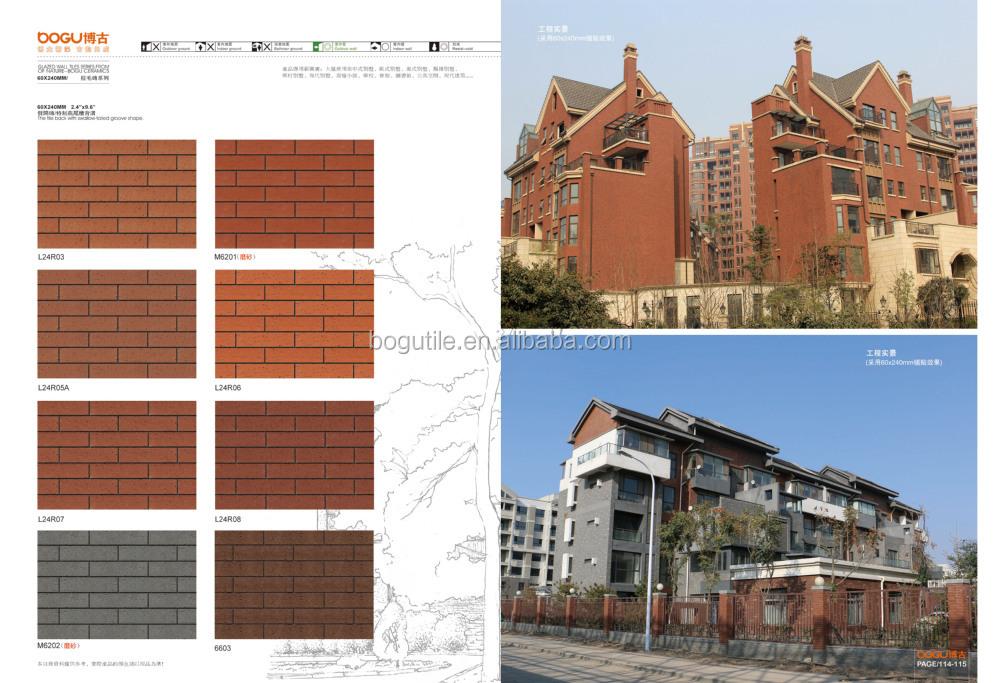 60x240mm Exterior Wall Tile Face Brick Types Of Bricks Buy Types