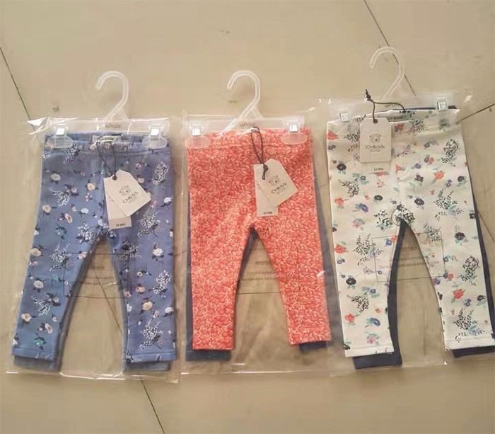 New Arrival 9-24 Months Cotton Spandex Printed Baby Leggings Pants