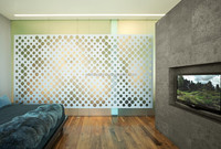 Competitive price modern metal wall dividers