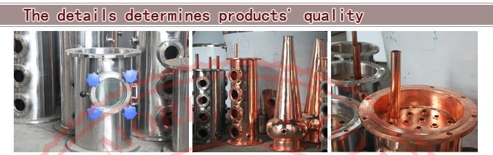USA Hot Sales Copper Still for Vodka, Copper Distillatiion