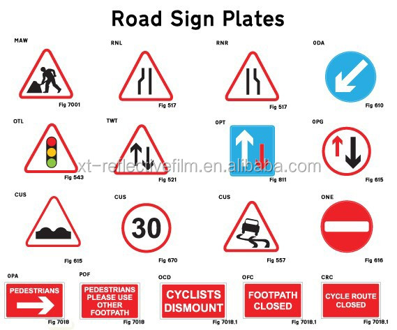 Reflective Road Traffic Signs,Traffic Signs,Reflective Safety ...