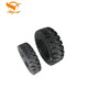 7 industrial forklift solid rubber tire 300-15