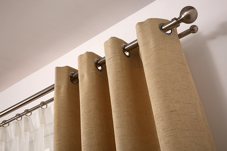 Home collection plain color fashion hotel curtain luxury wholesale ready made curtain