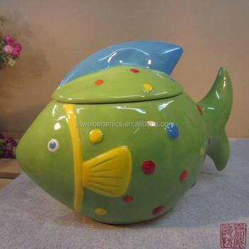 Factory Fish Design Ceramic Green Kitchen Canisters - Buy Green Kitchen  Canisters,Ceramic Canister White,Designer Kitchen Canisters Product on ...