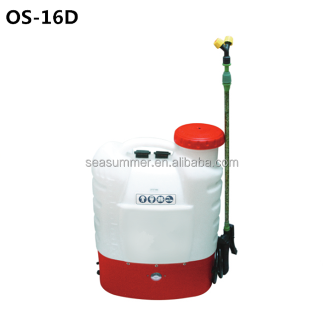 Best Selling High Pressure Battery Operated Agriculture Sprayer/16L Knapsack Electric Sprayer OS-16D/16DE/16DG/16DH/18DE/18DH