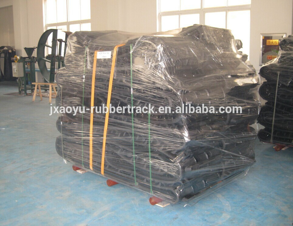 500*64*36 custom snowmobile rubber tracks, snow tracks for vehicle