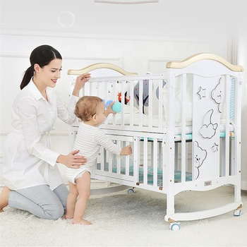 Nursery Furniture Sets Wooden Baby Crib