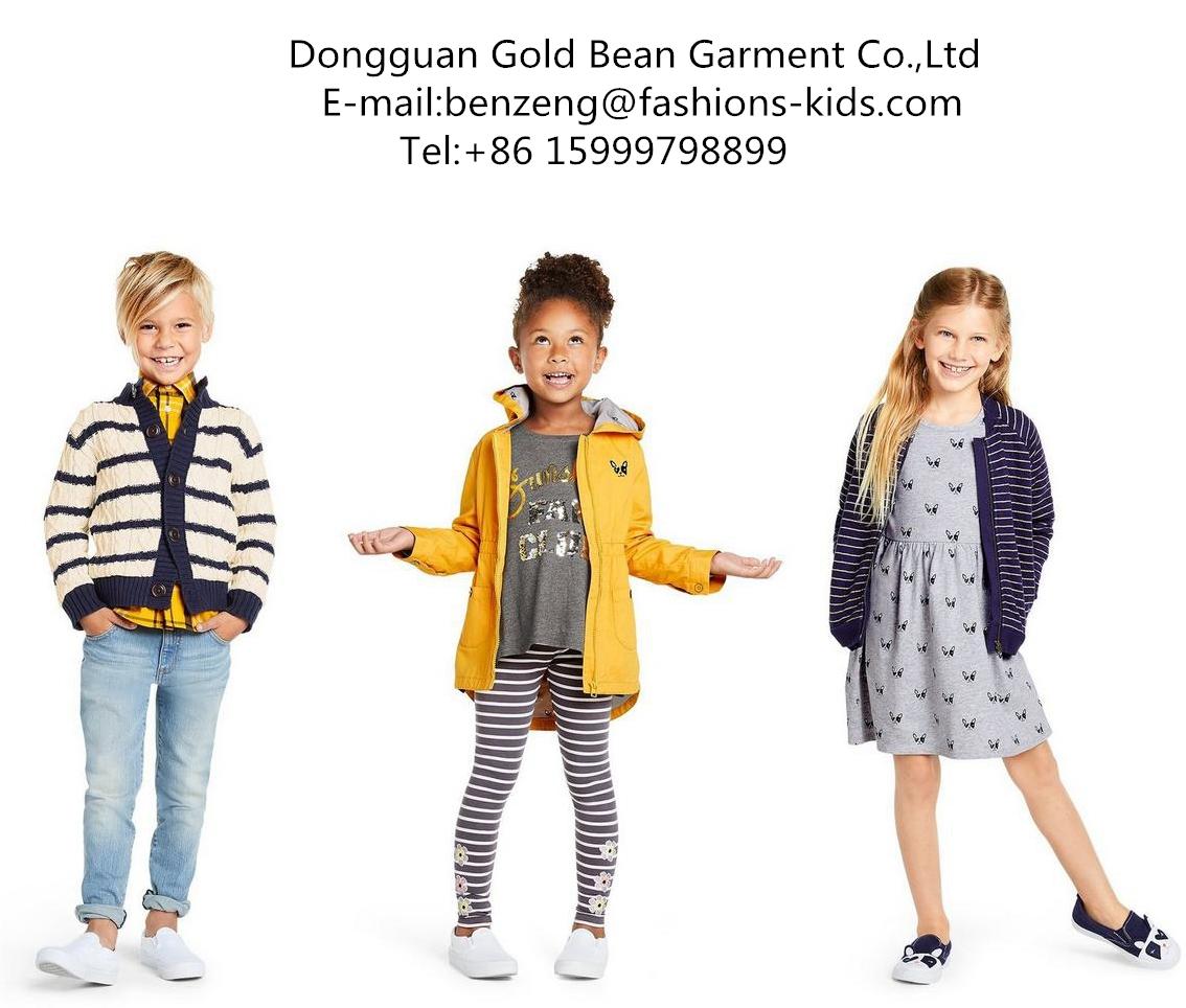 Dongguan Gold Bean Children Clothing Coltd