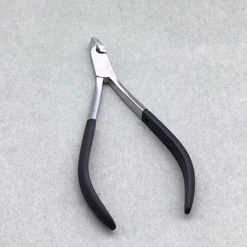 Professional Fashion Sharp Stainless Steel Black Nail Clipper